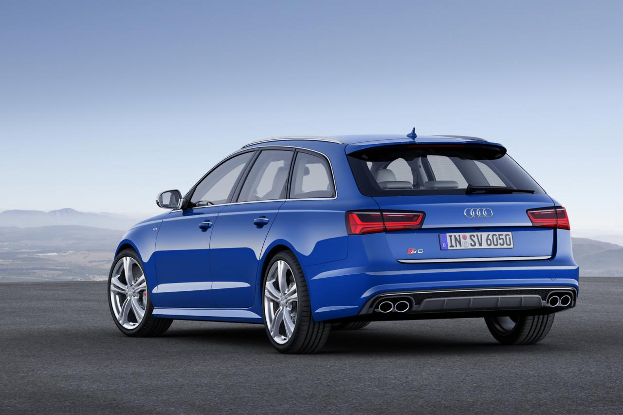 audi unveils 2015 a6 facelifted range speed carz. Black Bedroom Furniture Sets. Home Design Ideas
