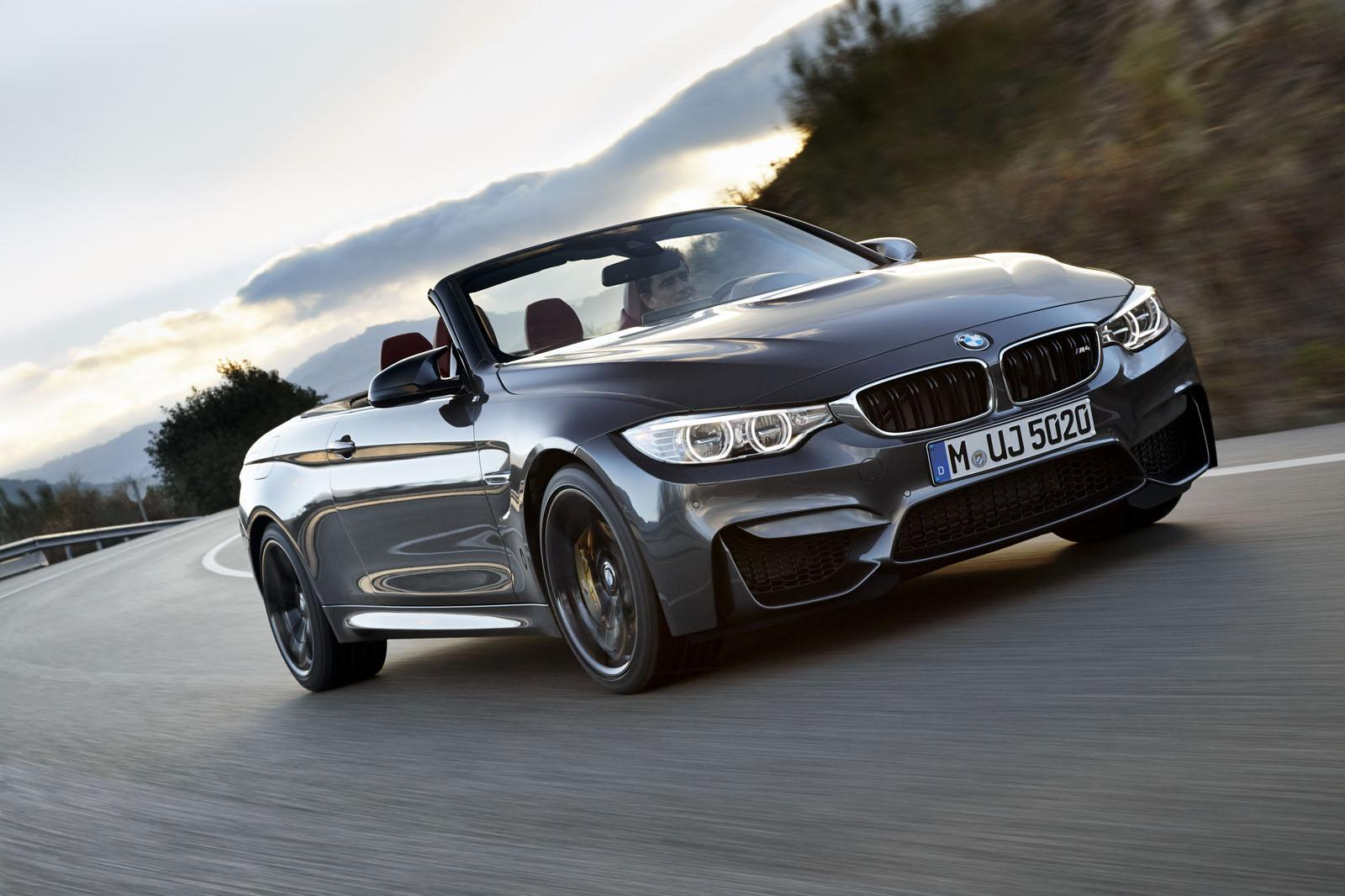 Bmw M4 Convertible Introduced With Hard Top And 425 Bhp