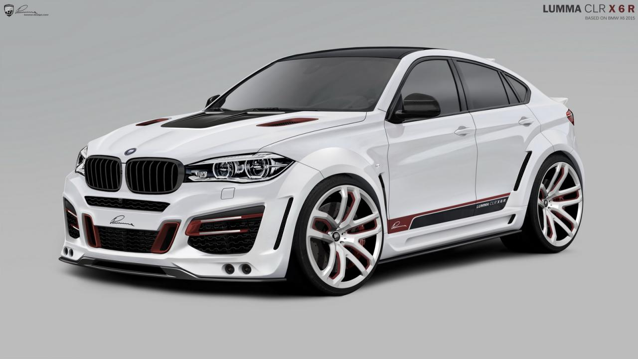 2015 Bmw X6 Tricked Out By Lumma Design Speed Carz