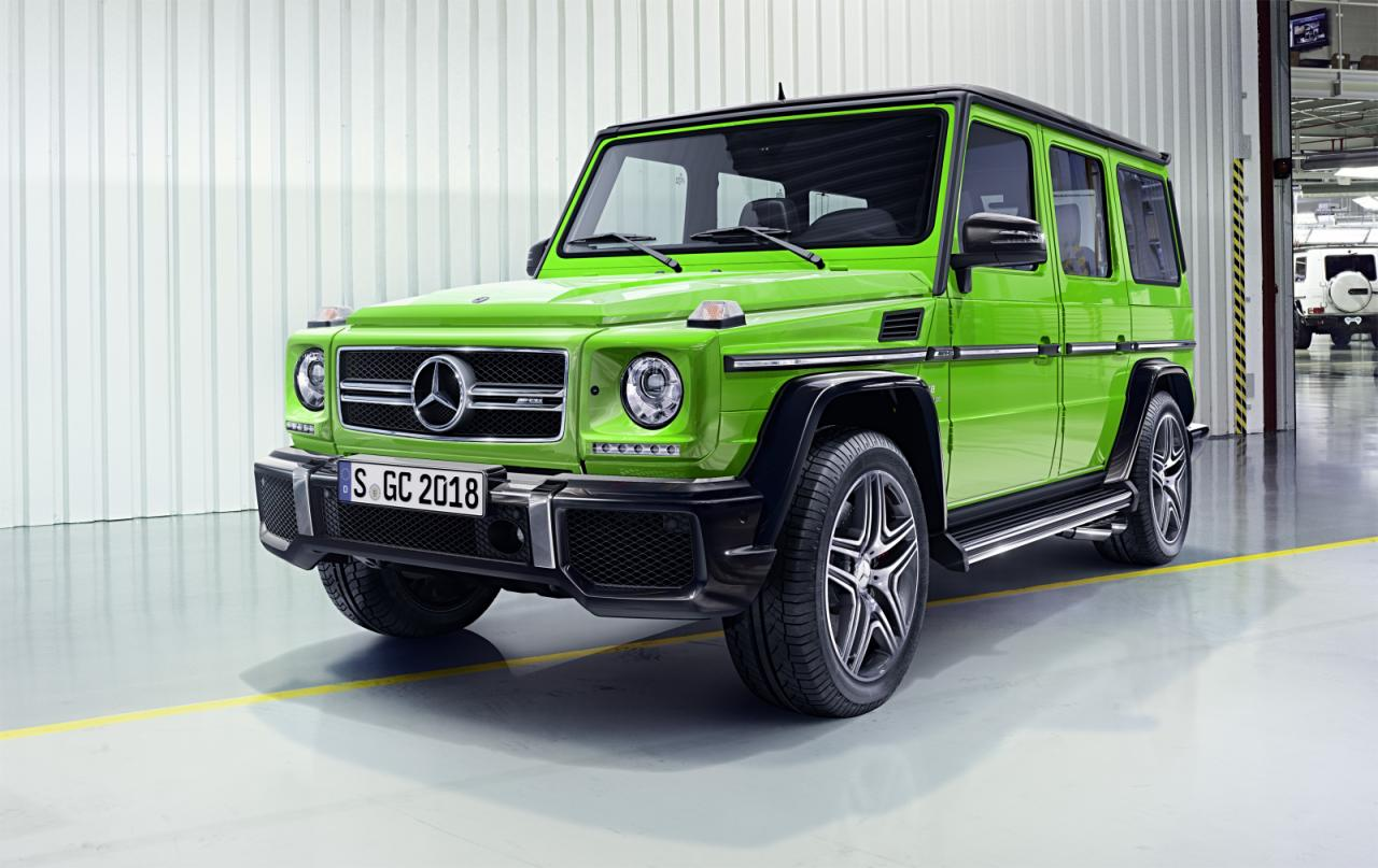 2015 mercedes benz g class announced with several updates speed carz. Black Bedroom Furniture Sets. Home Design Ideas