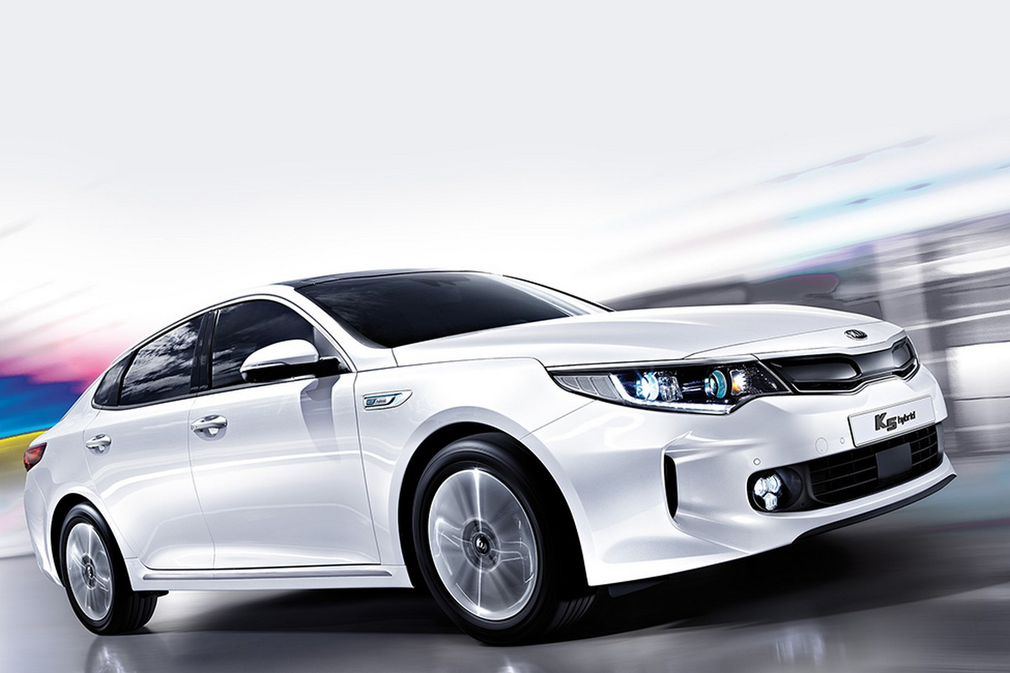 kia optima k5 hybrid revealed speed carz. Black Bedroom Furniture Sets. Home Design Ideas