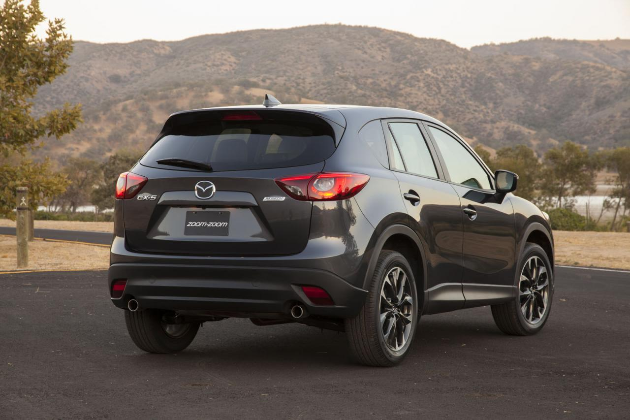 2016 mazda cx 5 unveiled in l a speed carz. Black Bedroom Furniture Sets. Home Design Ideas
