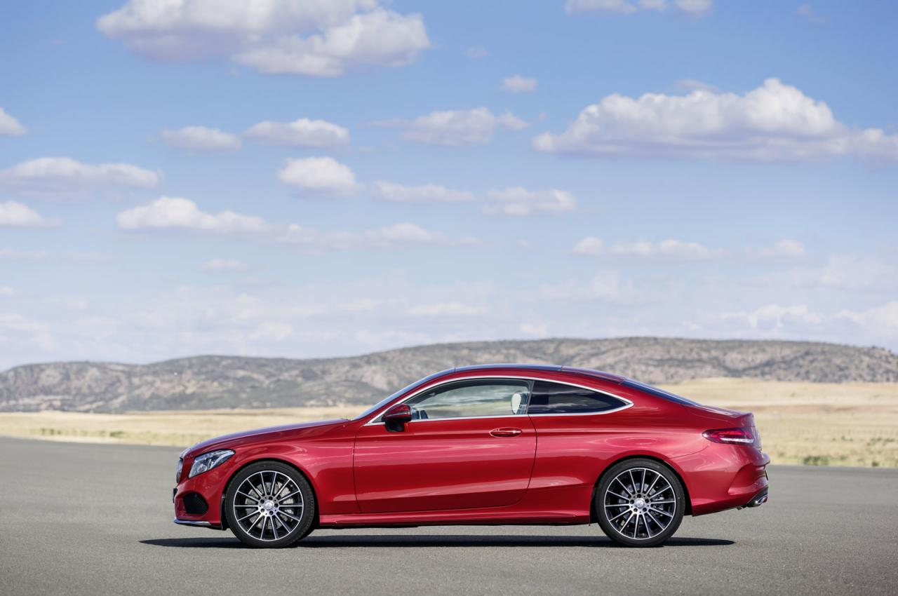 mercedes benz launches all new 2016 c class coupe speed carz. Black Bedroom Furniture Sets. Home Design Ideas