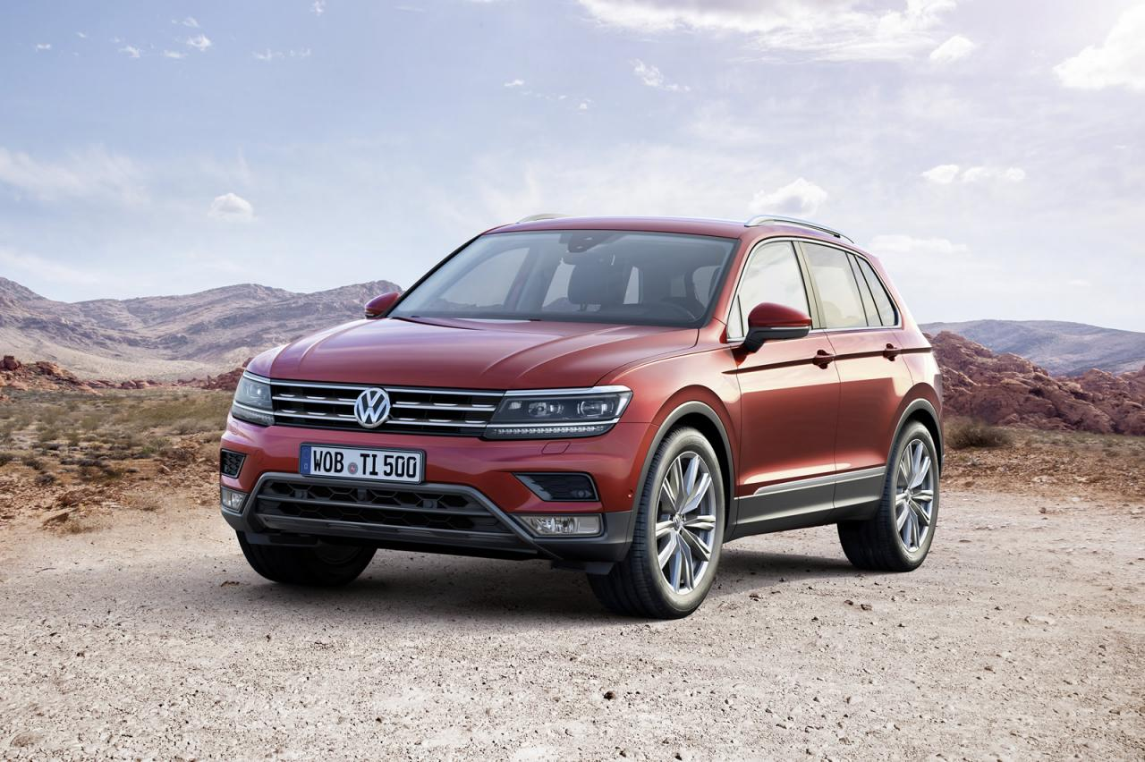 volkswagen launches all new tiguan in frankfurt speed carz. Black Bedroom Furniture Sets. Home Design Ideas