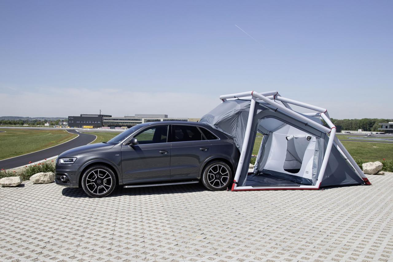 Audi Brings Q3 Camping Tent To Worthersee Speed Carz