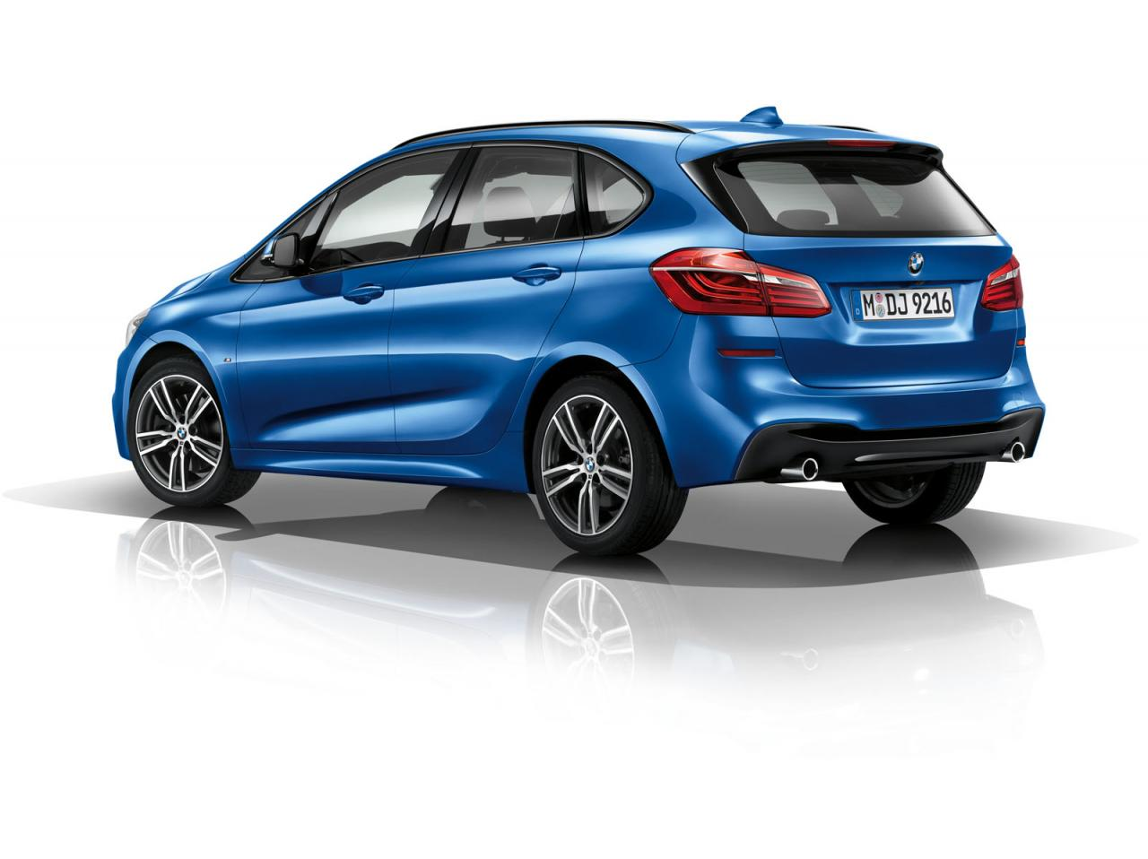 bmw launches 2 series active tourer m sport speed carz. Black Bedroom Furniture Sets. Home Design Ideas
