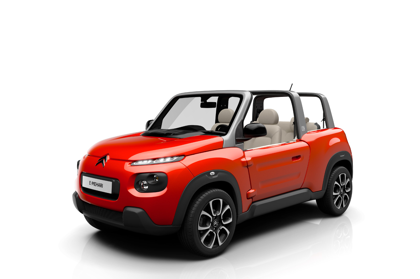 citroen e mehari revealed as production model speed carz. Black Bedroom Furniture Sets. Home Design Ideas