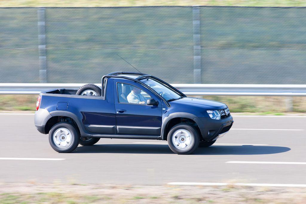 dacia duster pick up enters limited production speed carz. Black Bedroom Furniture Sets. Home Design Ideas