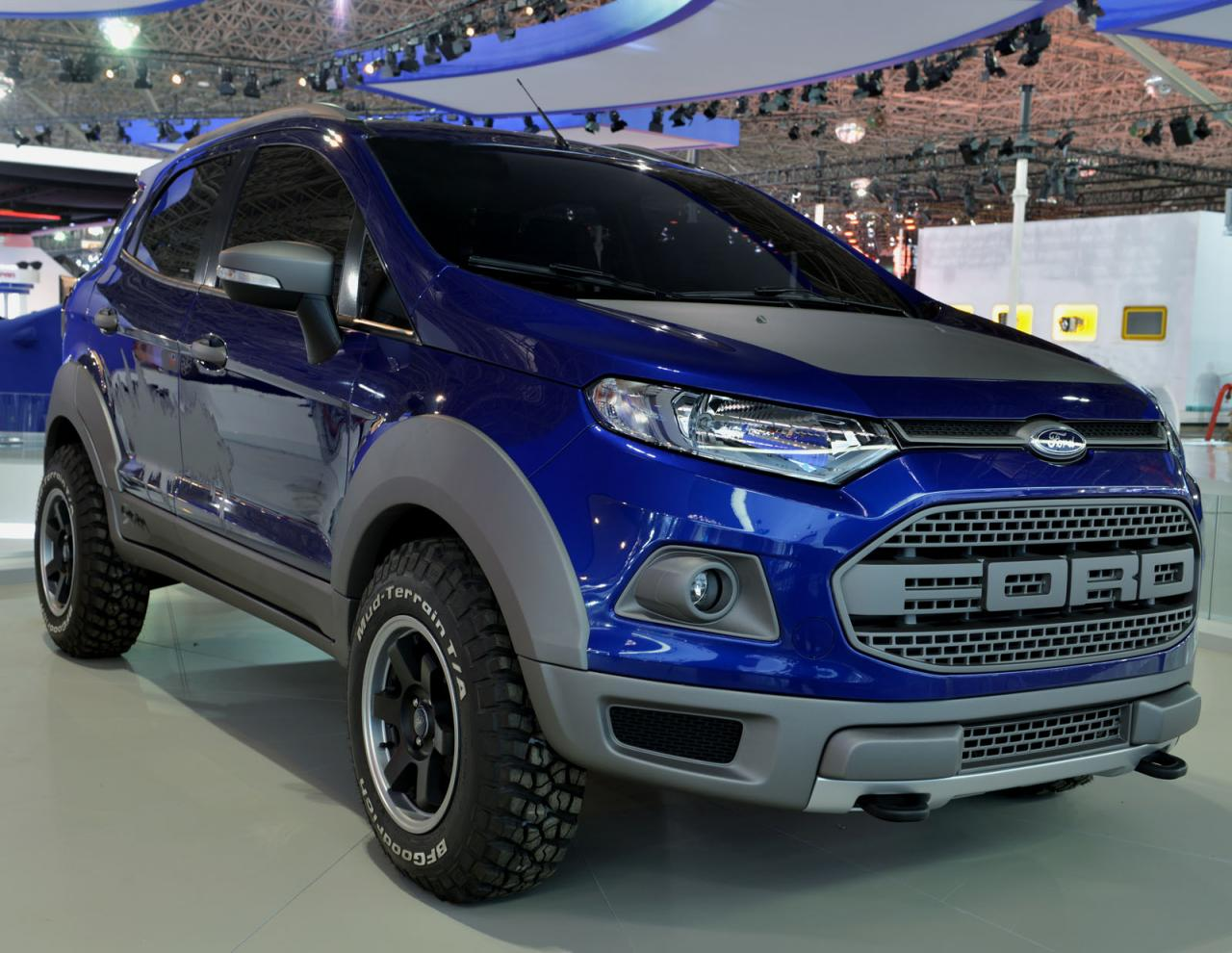 Ford EcoSport Storm Concept Breaks Cover
