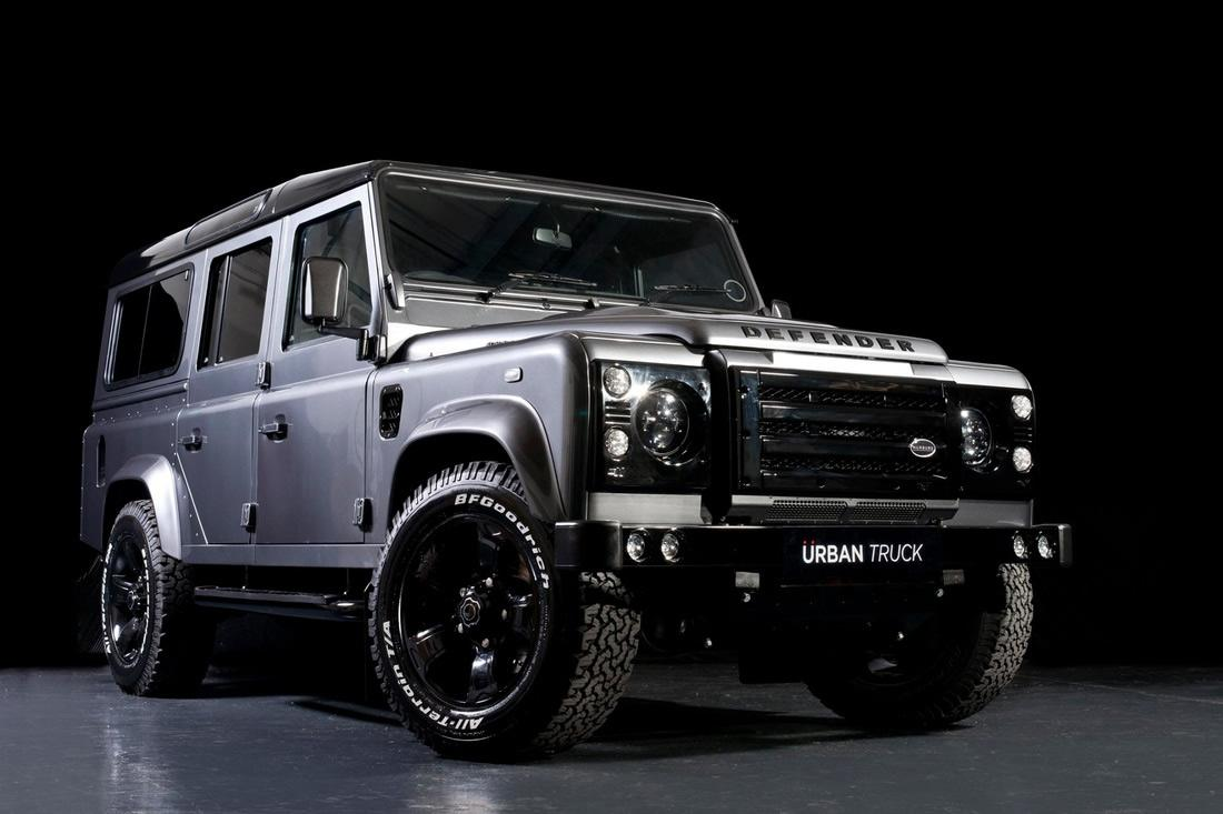 land rover defender tuned by urban truck speed carz. Black Bedroom Furniture Sets. Home Design Ideas