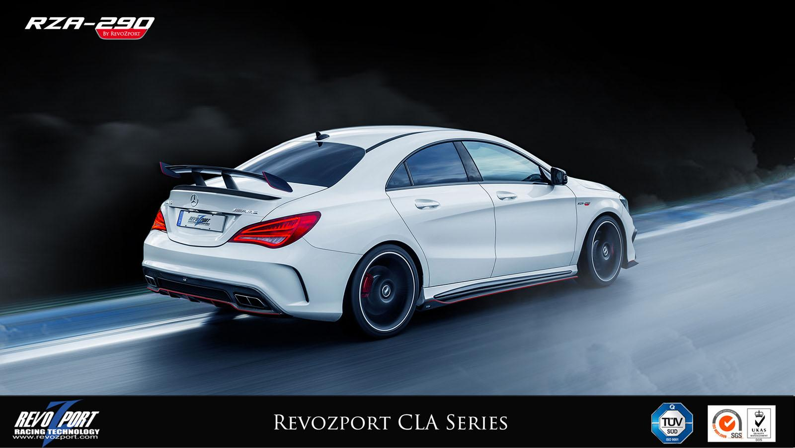mercedes benz cla tuned by revozport speed carz. Black Bedroom Furniture Sets. Home Design Ideas