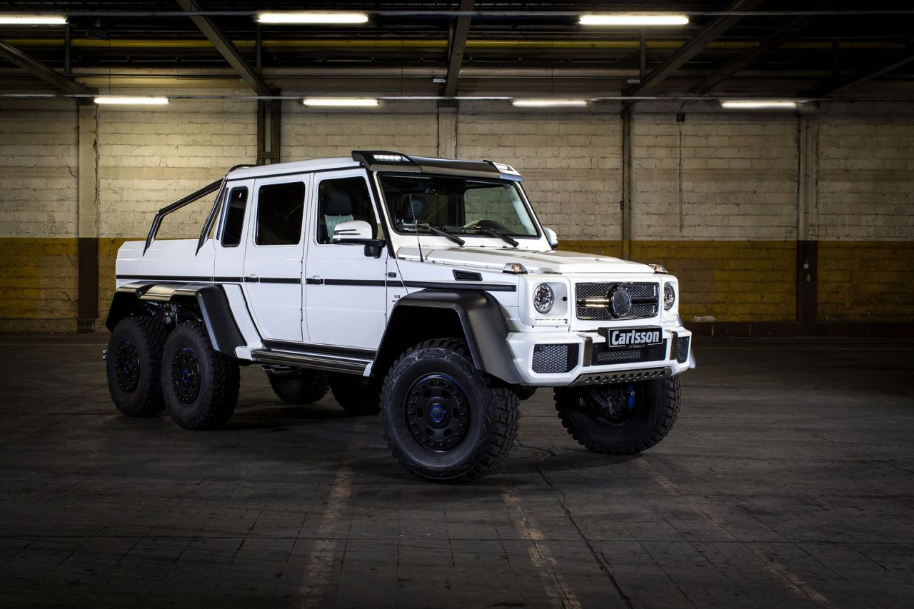 mercedes benz g63 amg 6x6 tuned to 650 ps by carlsson. Black Bedroom Furniture Sets. Home Design Ideas