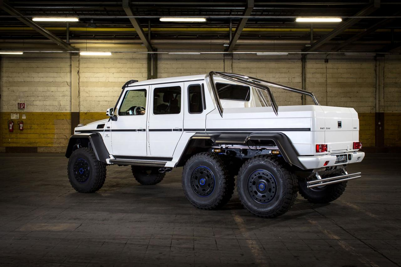 mercedes benz g63 amg 6x6 tuned to 650 ps by carlsson speed carz. Black Bedroom Furniture Sets. Home Design Ideas