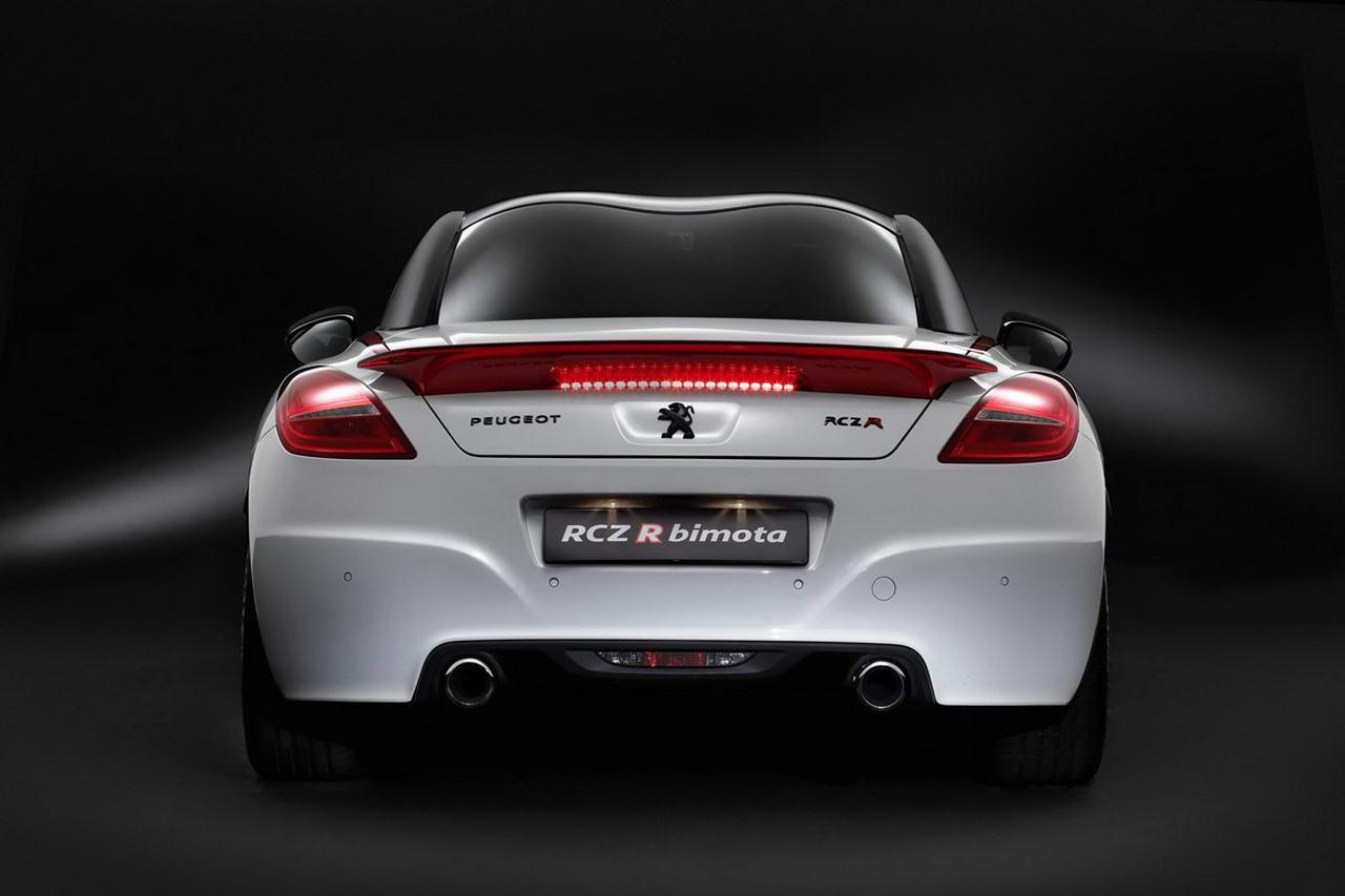 peugeot rcz r bimota officially introduced speed carz. Black Bedroom Furniture Sets. Home Design Ideas