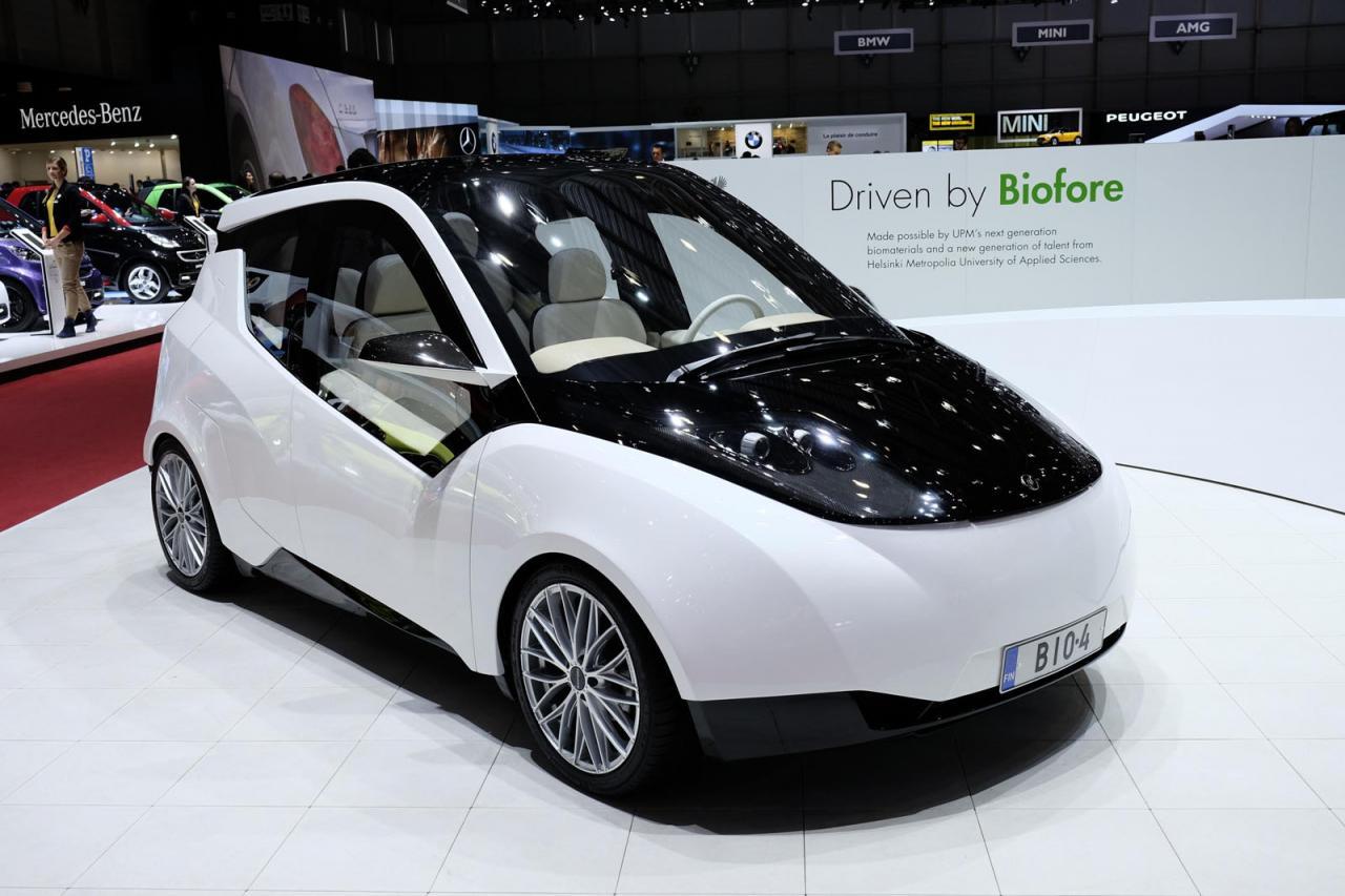 UPM Biofore concept surprises Geneva crowd - Speed Carz
