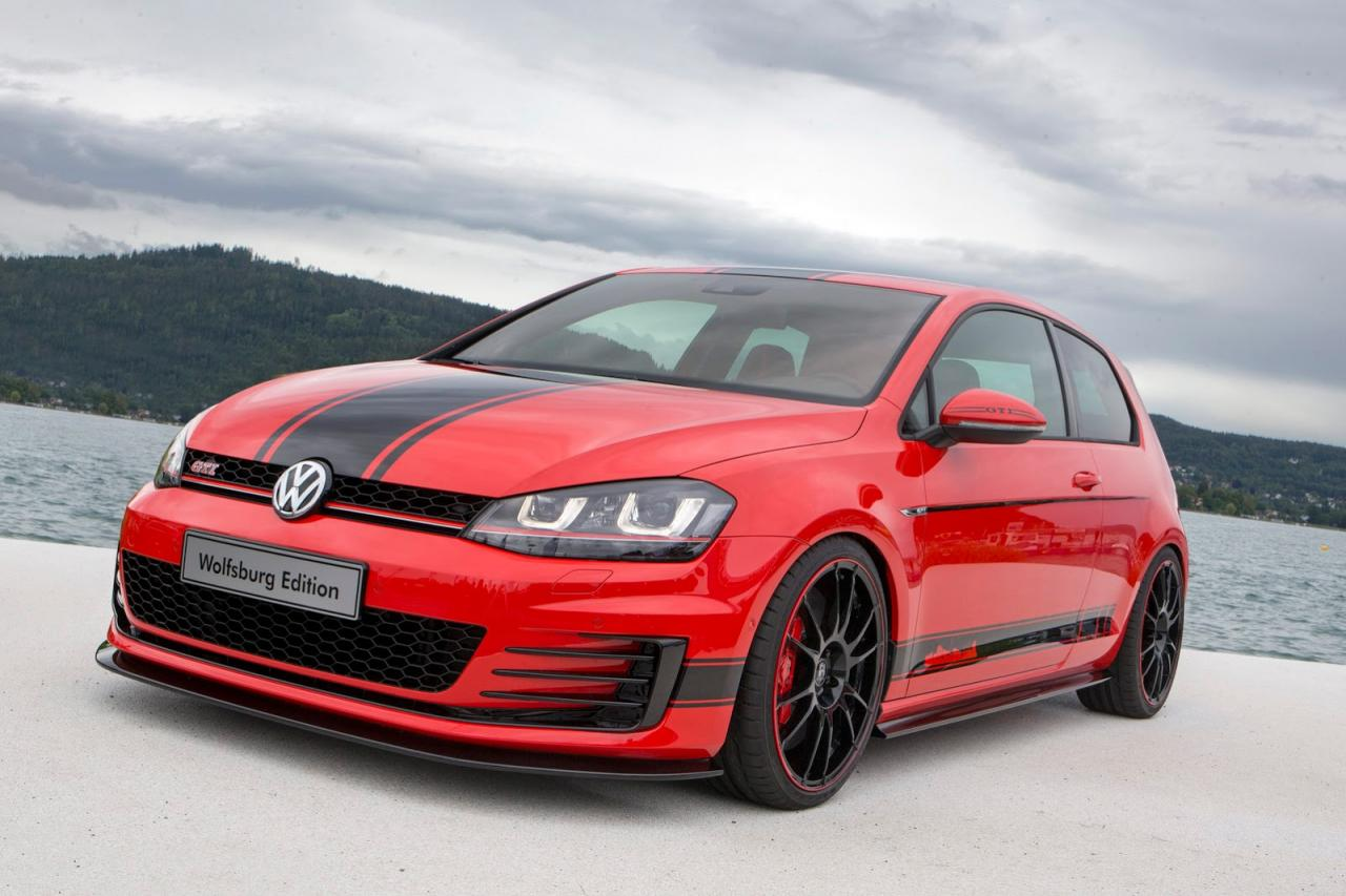 volkswagen golf gti wolfsburg edition powers into. Black Bedroom Furniture Sets. Home Design Ideas