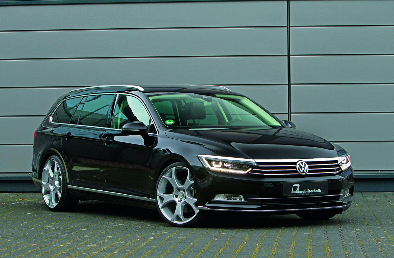 volkswagen passat b8 tuned by b b speed carz. Black Bedroom Furniture Sets. Home Design Ideas