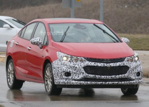 Chevrolet Cruze Hybrid Spied Testing First Time