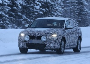 BMW X2 Spied During Winter Testing