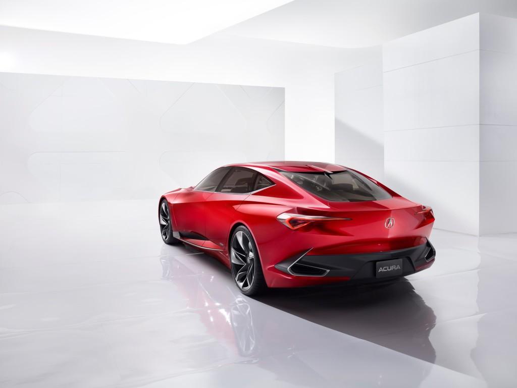 Acura Precision Concept Rear