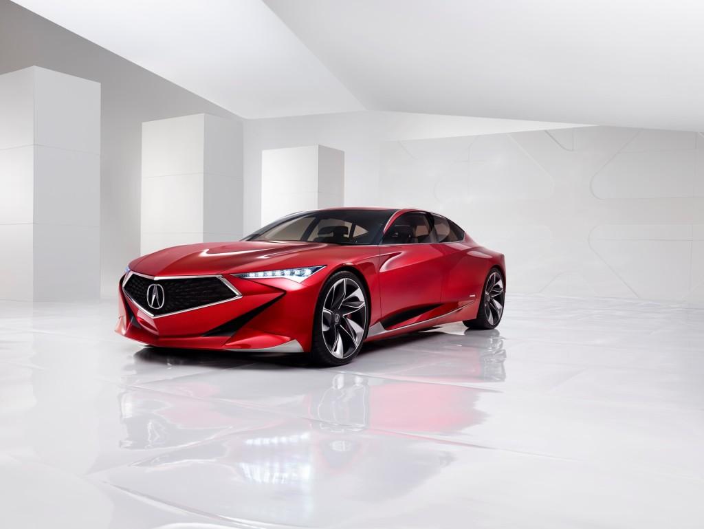 Acura Precision Concept Front Fascia