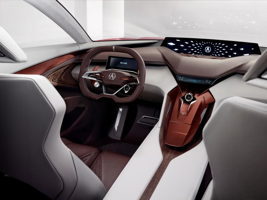 Acura Precision Concept Interior Cabin