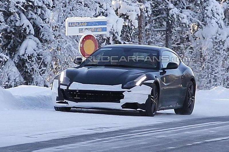 2016 Ferrari FF Facelift as Test Mule
