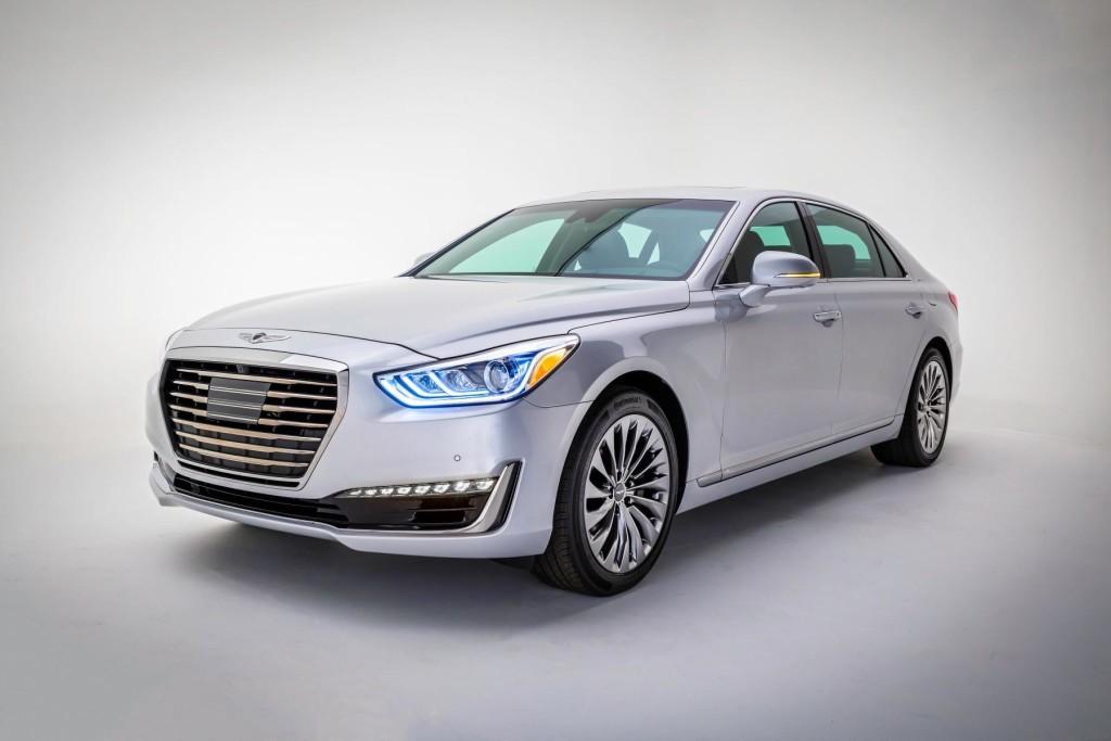 Hyundai Genesis G90 Front Fascia