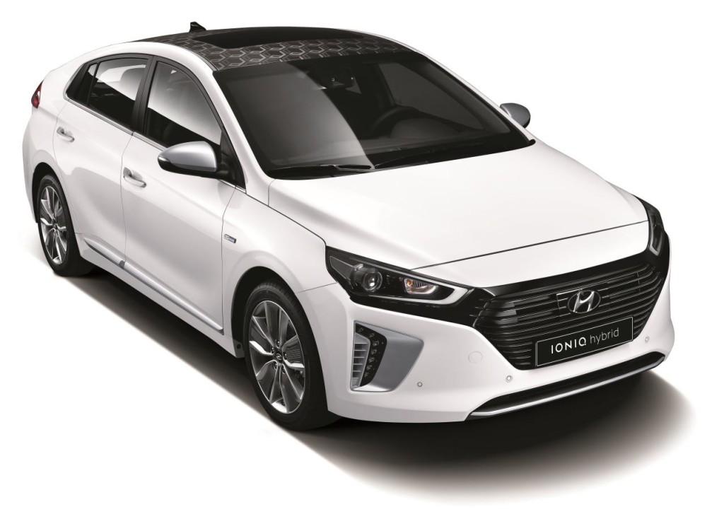Hyundai Ioniq Hybrid Front Fascia