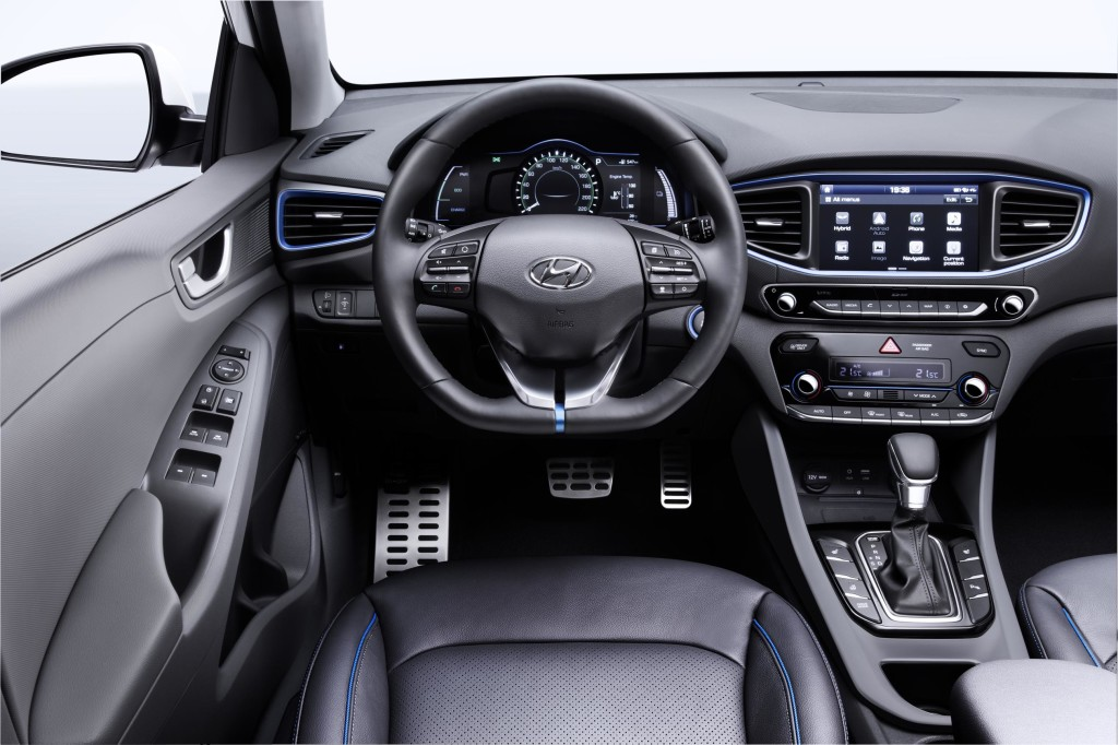 Hyundai Ioniq Hybrid Interior Cabin