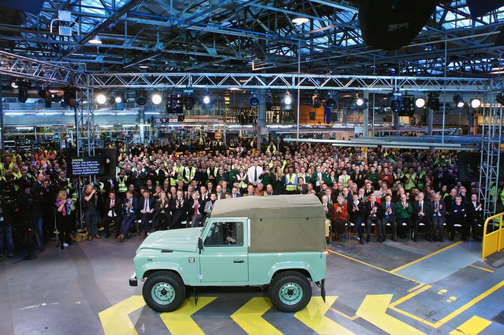 Adios Amigos - Says Land Rover Defender