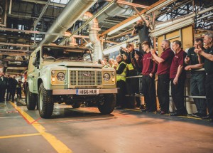 Land Rover Defender Bids Adieu