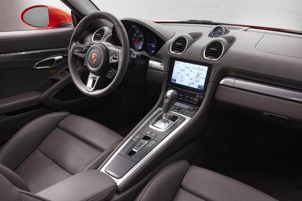 Porsche 718 Boxster Interior Cabin