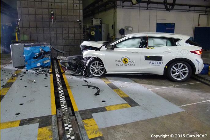 Infiniti Q30 Crash Test