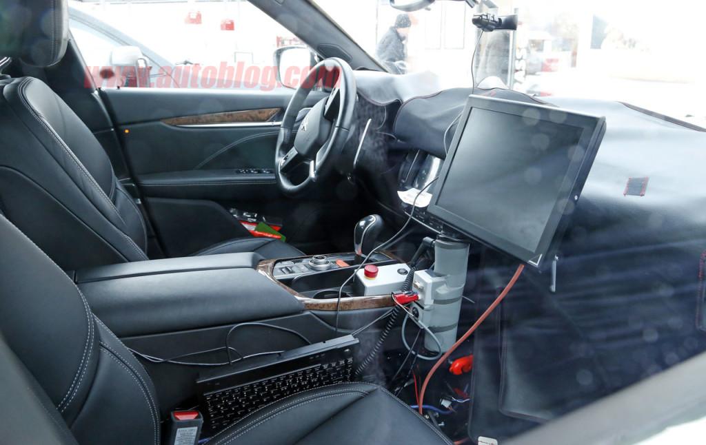 Maserati Levante Interior Cabin