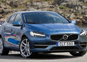 The Newly Revamped Volvo V40 To Dominate At Geneva