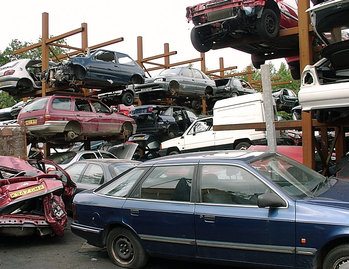Using a wrecking yard to save money on your motorcycle maintenance ...