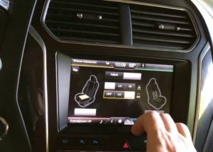 What are air-conditioned seats?