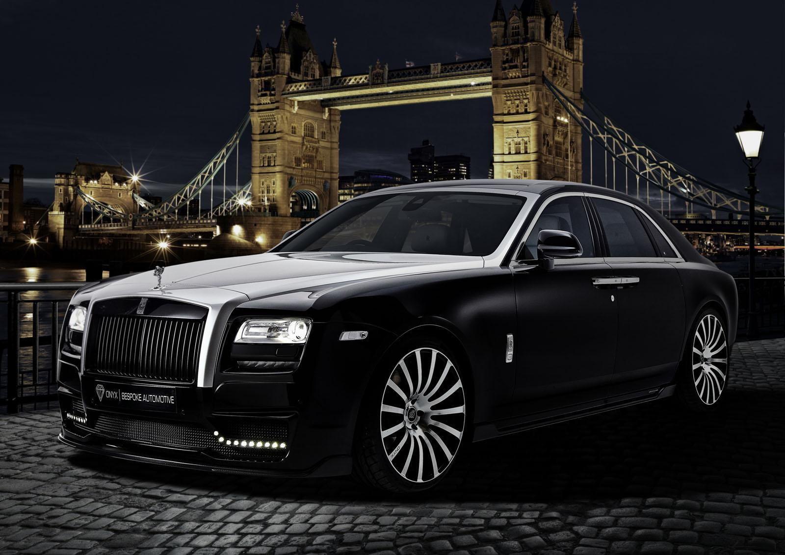Rolls-Royce Ghost tricked out by Onyx Concept - Speed Carz